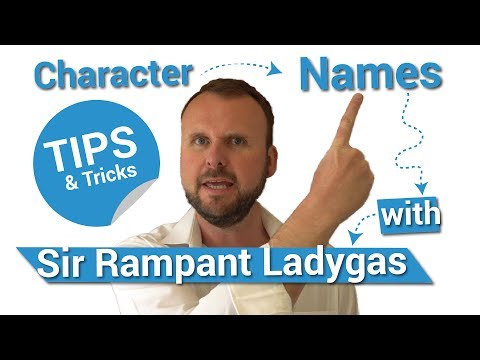 Creating Character Names for your Movie Script or Novel