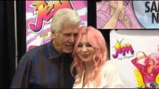 """Dammit, JEM I Love you"" Samantha Newark and Barry Bostwick"
