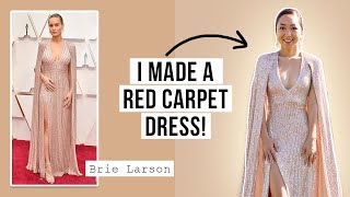 I Recreated Brie Larson's Dress From The Oscars!