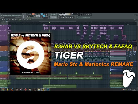 R3hab vs. Skytech & Fafaq - Tiger (Original Mix) (FL Studio Remake + FLP)
