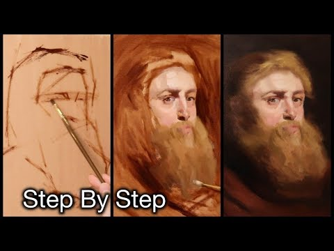 Portrait Painting Tutorial | Peter Paul Rubens Master Study (Complete Video)