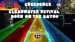 Creedence Clearwater Revival - Born on the Bayou - @RockBand Blitz Playthrough (5 Gold Stars)