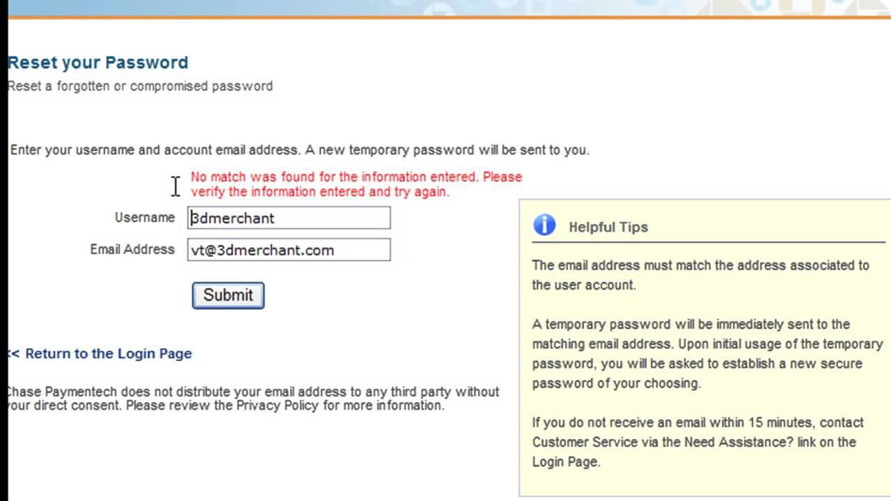 Match com secure login