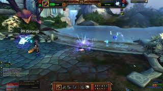 World Of Warcraft   WOW LEGION Training with the Nightwatchers Pet Battle World Quest HD Gameplay 10