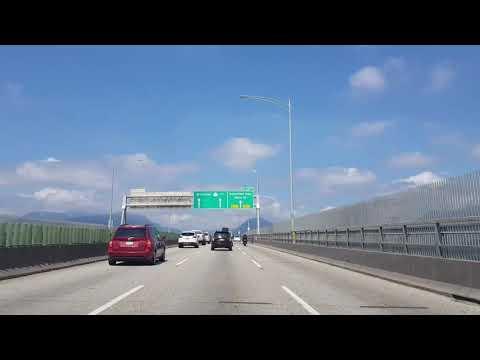 Поездка в Капилано парк - дорогами Бернаби и Ванкувера