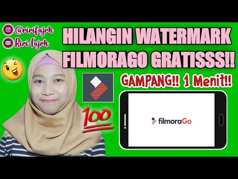 CARA MENGHILANGKAN WATERMARK FILMORAGO 2019!! *Gampang Bgt!! #CaraRifa || Riri Fajrh