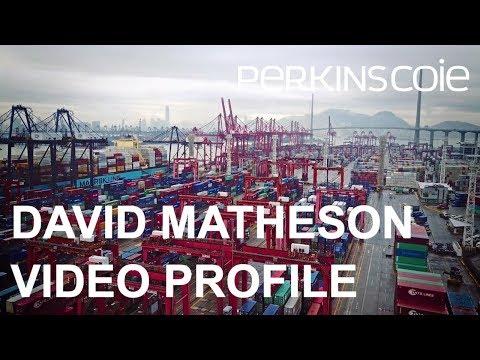 David Matheson - Public Companies & Capital Markets Law Attorney Profile - Perkins Coie