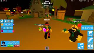 quelque code !!! roblox mining simulator