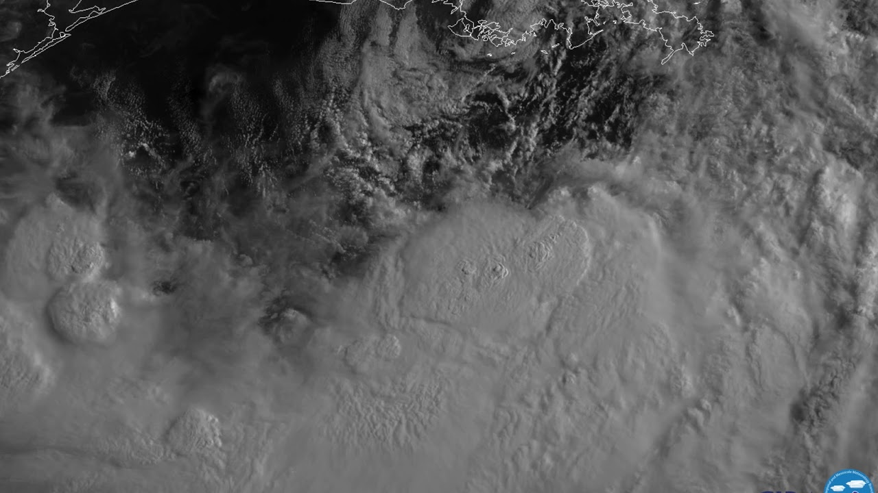 A dramatic view of Tropical Storm Barry unlike any you may have seen