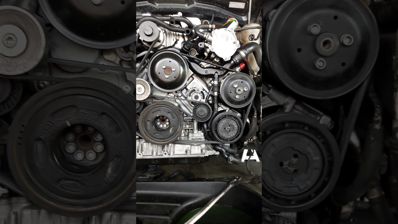 2010 audi s4 3.0 serpentin belt diagram - YouTube | Audi S4 Engine Diagram |  | YouTube