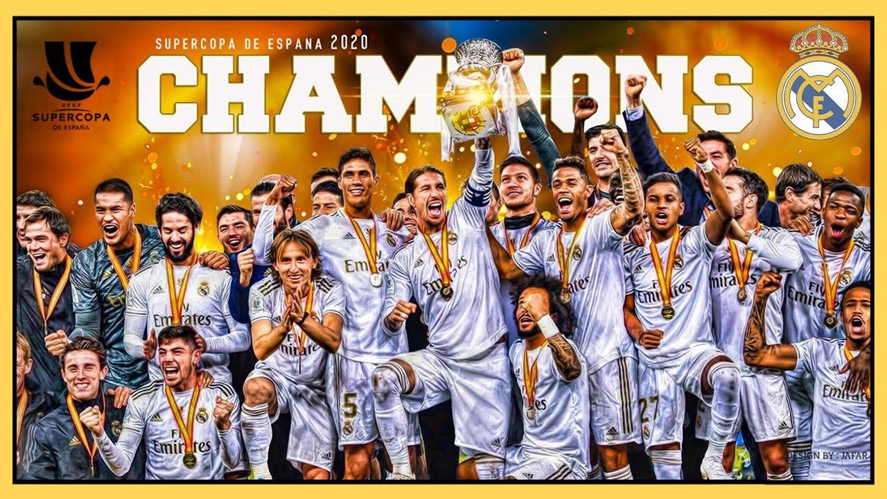 🏆 SUPERCOPA de España (2020) 🇸🇦 REAL MADRID Campeón en Jeddah vs Atlético de Madrid