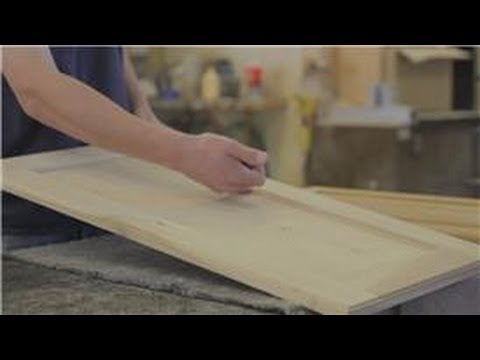 Cabinets 101 How To Remove An Inner Wood Panel From A Cabinet Door
