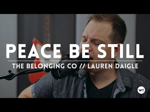 Peace Be Still - coffeehouse acoustic style cover //The Belonging Co (Lauren Daigle)