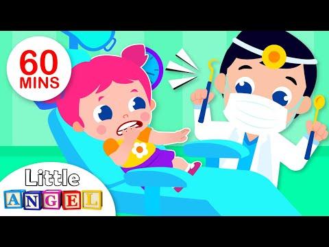 Baby Goes to the Dentist | 5 Little Puppies Peekaboo | Kids Songs & Nursery Rhymes by Little Angel