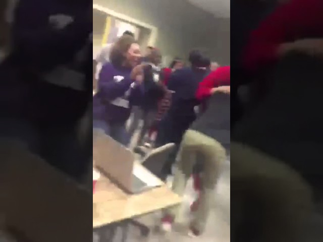 Watch this high school senior explode with joy after getting into