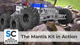The Mantis™ Kit from Actobotics® in action!