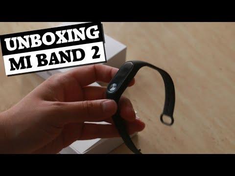 Unboxing da Mi Band 2!