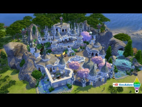 NO CC ✨🧙‍♂️ Realm Of Magic Village 🧙‍♂️✨The Sims 4 🧙‍♂️SimsAdore Creations