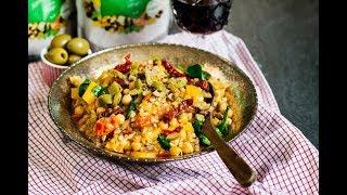 Vardagsvego: Italiensk grynotto - en risotto med spännande gryner