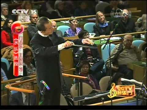 Beibei Wang Playing Water Concerto by Tan Dun at UN