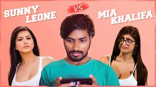 Sunny Leone Vs Mia Khalifa Comedy video Rey 420