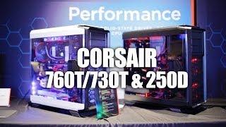 Corsair CES 2014 - Graphite 760T/730T & Obsidian 250D