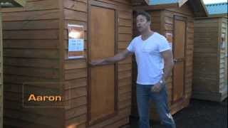 Aarons Timber Garden Sheds - Diy Or We Can Install Your Garden Shed!