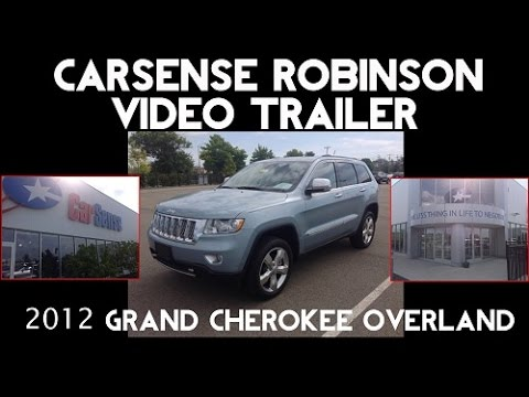 Gary Tate CarSense Robinson --  E01231 2012 Jeep Grand Cherokee Overland Summit