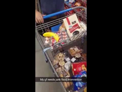 WHEN YOU LET YOUR GIRLFRIEND DO THE GROCERIES! Cot Dammit Elizabeth!!!