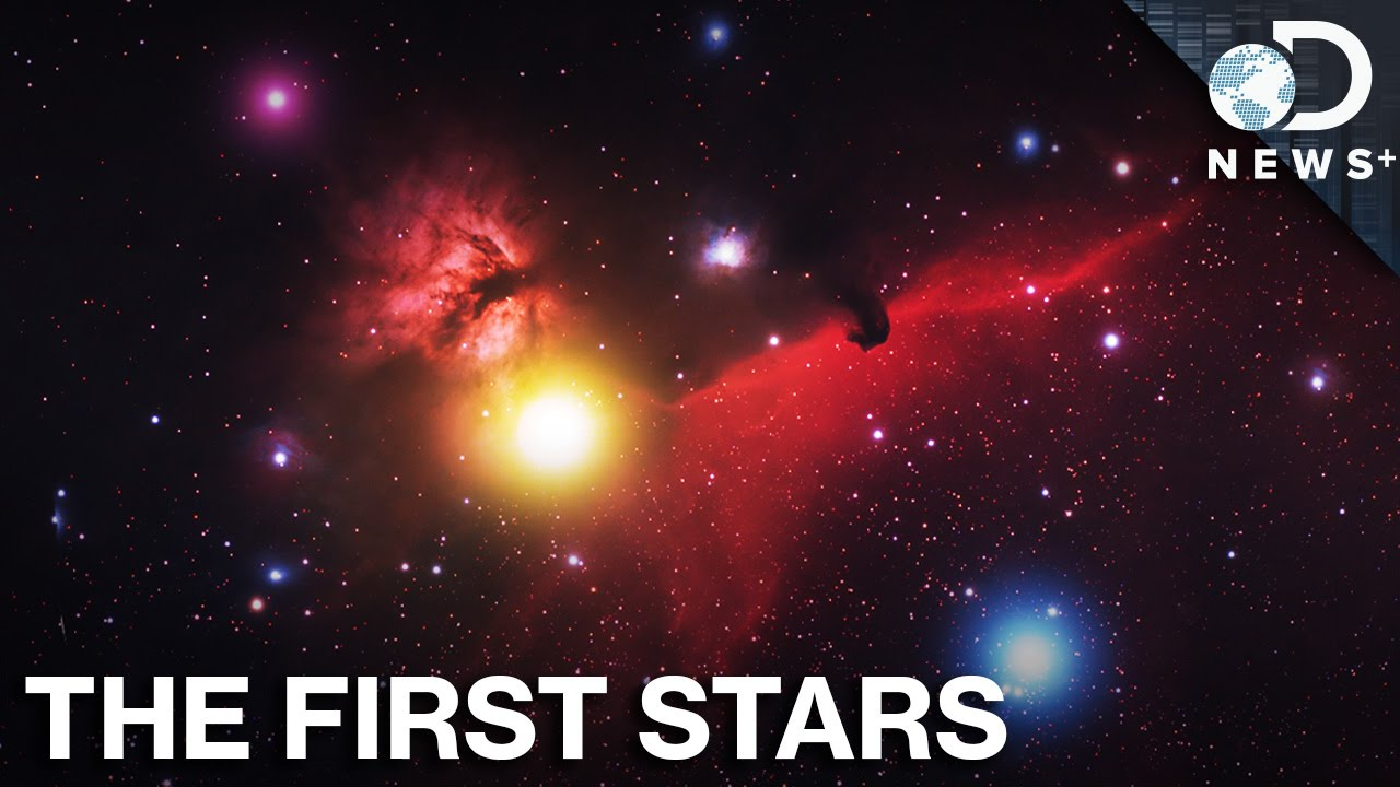 What Did The First Stars Look Like? - YouTube