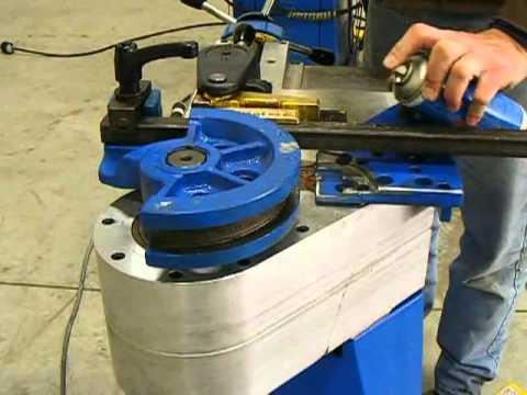 Ercolina curvadora de tubo sin mandrino modelo tb60 youtube for Curvadora de tubos segunda mano