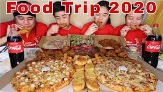 Gambar cover New Shakey's 2020 Promo   2 Pizza,1Bucket Chicken,Spaghetti,Carbona,Tuna Salad atbp.Pinoy Mukbang!!!
