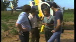 sky 5 wral tv news helicopter as featured on aware wral tv public affairs program in 1982