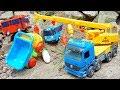 Tayo Bus Car Toys Crane Truck Rescue Dump Truck Bulldozer From Dinosaurs Help Truck Get Fruit mp3