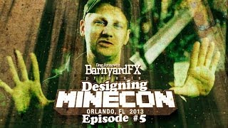 Designing Minecon 2013 Episode 5 The Attractions
