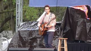 """Andy Grammer """"Keep Your Head Up"""" Live @ Downtown Orlando Food and Wine Fest 2/24/13"""