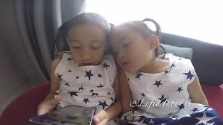 Lifia Niala Berenang di Hotel #Vlog Happy Weekend Holiday Kids Swimming Pool