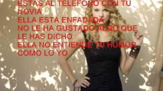 Taylor Swift- You Belong with Me (Traducida
