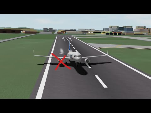 [FLIGHTLINE ATC DISCORD] Landing with only one engine (Roblox FlightLine)