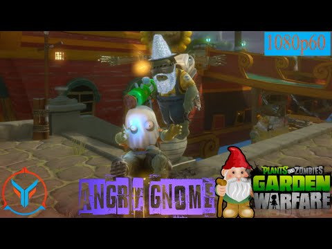 Plants Vs Zombies Garden Warfare Angry Gnome Plumber Youtube