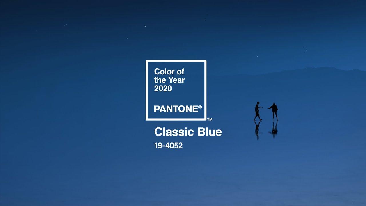 Pantone Color of the Year 2020 - PANTONE 19-4052 Classic Blue