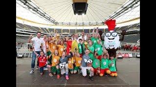 Siegerehrung KAUFLAND-Kidscup 17.06.2018, Commerzbank-Arena