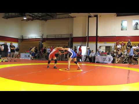 2013 Canada Cup: 48 kg Josee Tremblay vs. Madison Parks