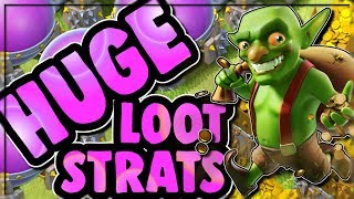 HOW TO FARM HUGE LOOT AT TOWN HALL 9, 10 and 11 | Clash of Clans
