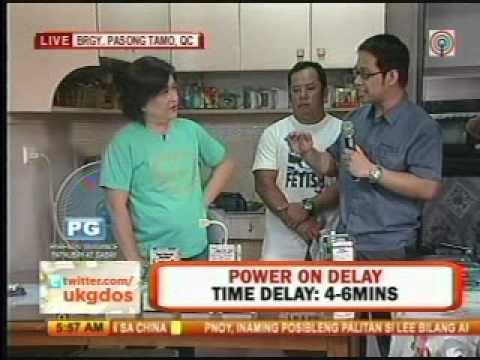 Tronix Energy Savers and Appliance Protectors at ABSCBN's UKG Apr 17, 2012