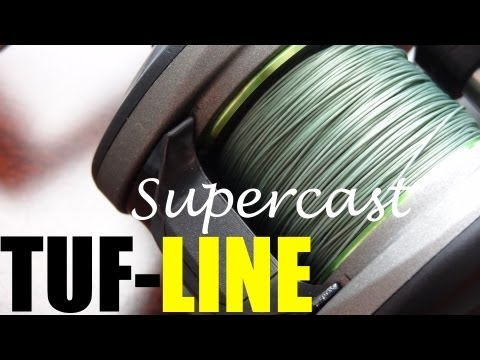 First Look: Tuf-Line Supercast Line Composition + Thoughts On Braid In General