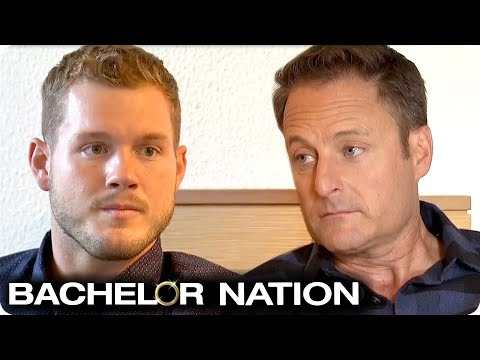 Colton Tells Chris Harrison Hes Going To Fight For Cassie | The Bachelor US