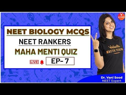 NEET Biology MCQs Episode - 7 | NEET Previous Year Questions | Dr. Vani Ma'am | Vedantu
