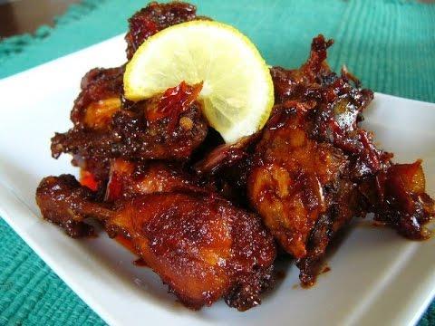 Resep Ayam Goreng Kalasan Super Lezat - YouTube