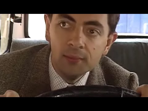 Bean's Got Drive   Funny Clips   Mr Bean Official